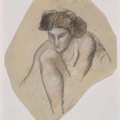 Juli González - Dona asseguda (Femme assise) - Cap a 1908-1912