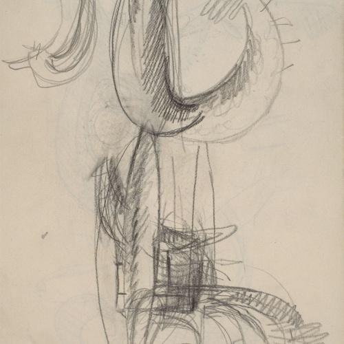 Juli González - Home cactus ballant (Homme cactus dansant) - 31 de març de 1939