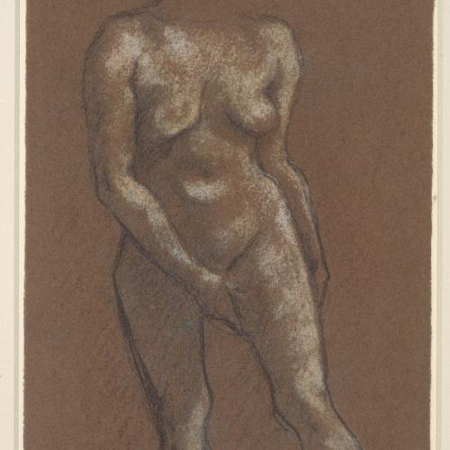 Juli González - Estudi de nu - Cap a 1914