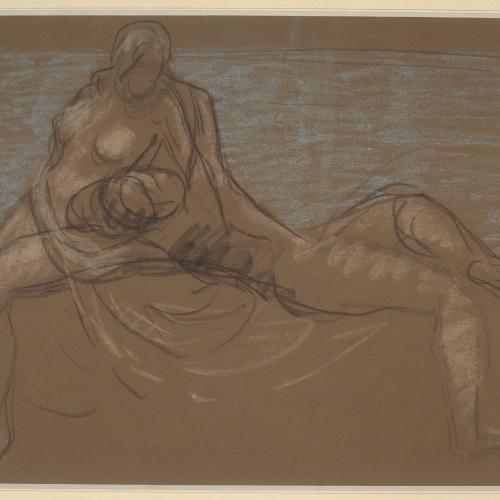 Juli González - Nude couple - Circa 1917