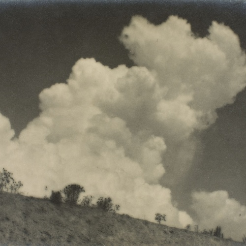 Joan Porqueras - Núvol d'estiu - 1929