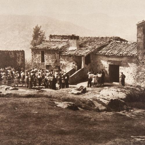 Claudi Carbonell - Aplec a l'ermita de Santa Magdalena del Mont (La Vall d'en Bas) - No datat