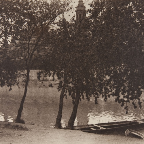 Claudi Carbonell - Orillas del Ebro - No datat
