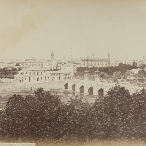 Jean Laurent - Valencia. Vista general - Circa 1865