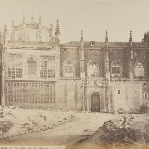 Jean Laurent - Fachada de San Juan de los Reyes. Toledo - Circa 1865