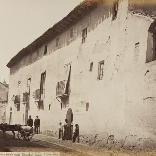 Jean Laurent - Valladolid. Casa donde murió Cristobal Colon - Cap a 1865
