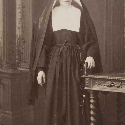 Rafael Areñas Miret - Portrait of a nun - Circa 1890