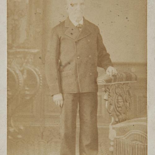 Rafael Areñas Miret - Portrait of a man - Circa 1890