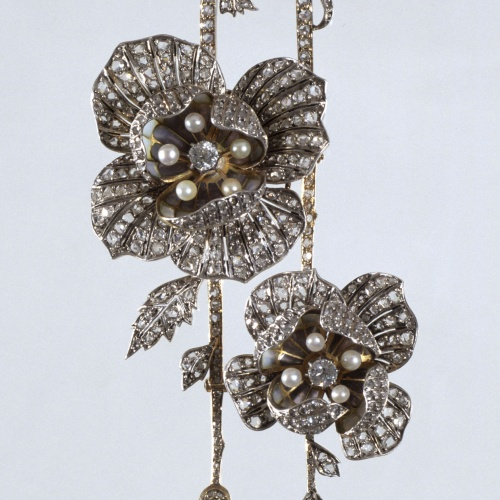 Lluís Masriera - Pendant with flowers - Barcelona, circa 1904