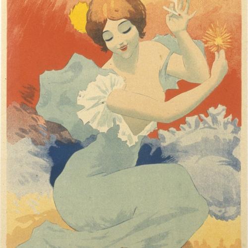 Georges Meunier - Papier à cigarettes Job - 1894