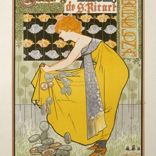 Alexandre de Riquer - Fábrica de lustres cremas y betunes de S. Ricart - 1898