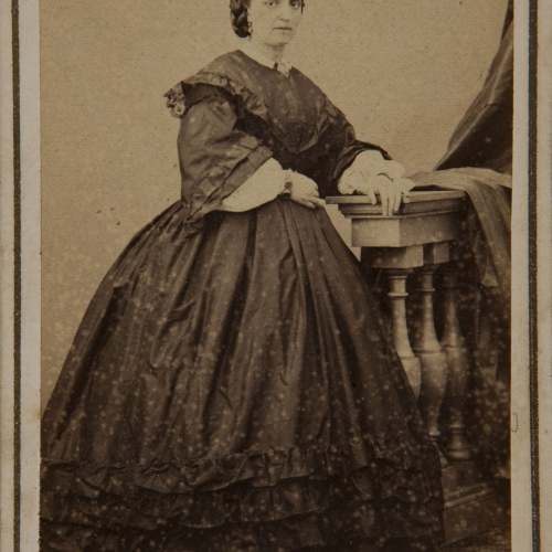 Fotografía Franco Hispano Americano. Barcelona - Portrait of a woman - Circa 1860