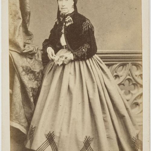 Moliné y Albareda. Barcelona - Portrait of a woman - Circa 1860