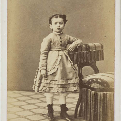 Cantó y Cía. Barcelona - Portrait of a child - Circa 1860