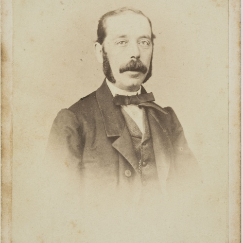 Moliné y Albareda. Barcelona - Portrait of a man - Circa 1860