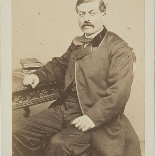 Leopoldo Rovira - Portrait of a man - Circa 1860