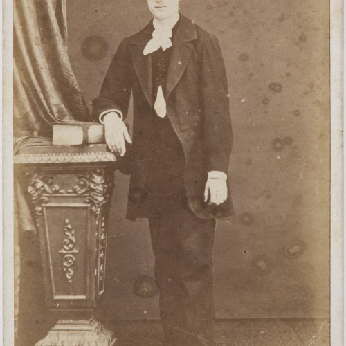 Joan Martí  - Portrait of a man - Circa 1860