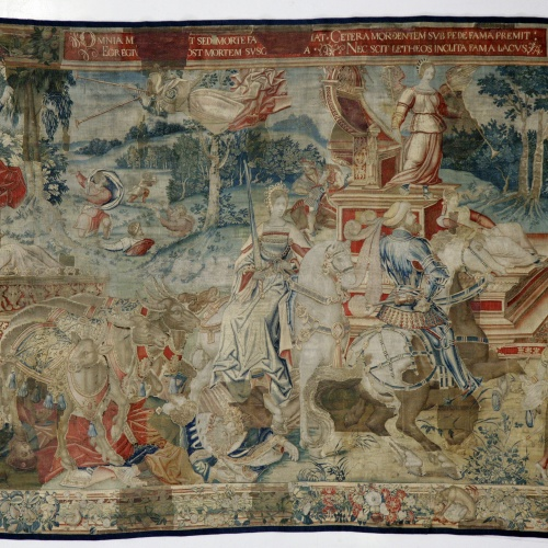 Willem Dermoyen - The Triumph of Fame over Death - Between 1540-1550