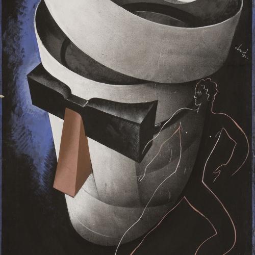 Antoni Clavé - El hombre invisible - 1934