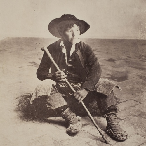 Robert Peters Napper - Andalusian Shepherd Boy (Sevilla) - Cap a 1860-1863