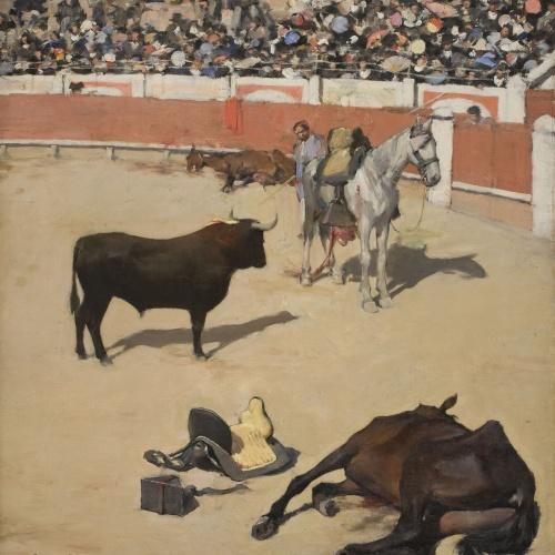 Museu Nacional d'Art de Catalunya | Toros (Cavalls morts)