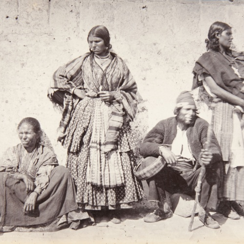 Robert Peters Napper - Group of 'Gitanos' - Circa 1863