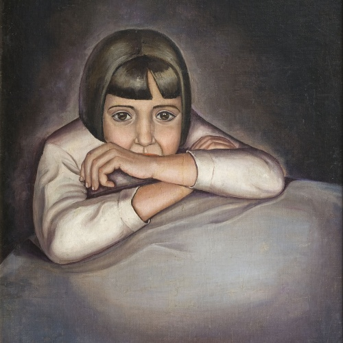 Ángeles Santos Torroella - Nena (Retrat de Conchita) - Valladolid, cap a 1929