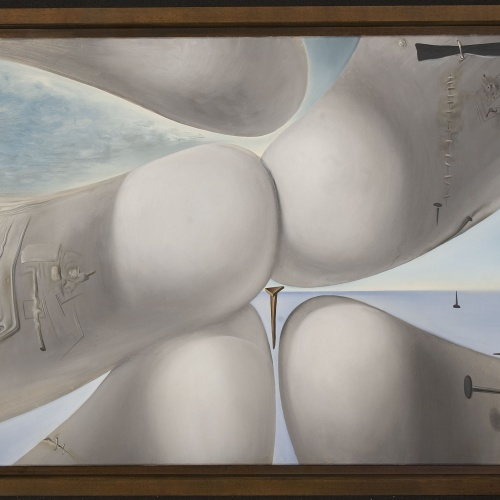 Salvador Dalí - Birth of a Goddess  - 1960