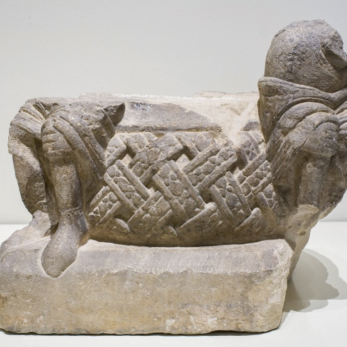 Anònim. Catalunya - Basis of the baldachin of Ripoll - Second third of 12th century