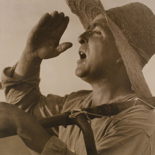 Antoni Arissa - Farmer  shouting - Undated