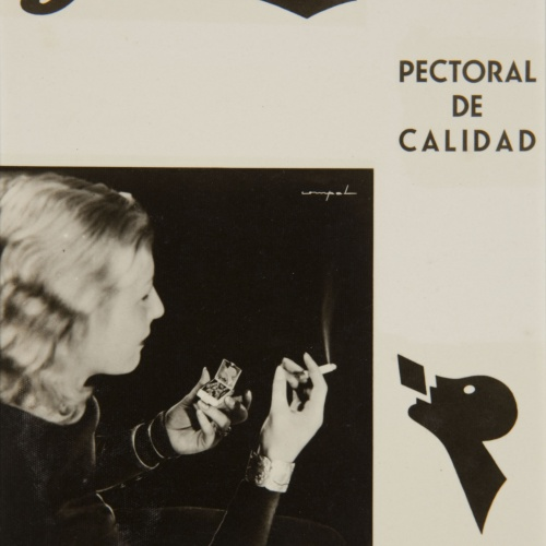COMPAL. Barcelona - Advertising photograph for 'Gaba' pills (chest medicine) - Undated