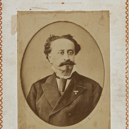 Antoni Esplugas Puig - Teatro del Buen Retiro. Sociedad Garcia Parreño - Before 1880
