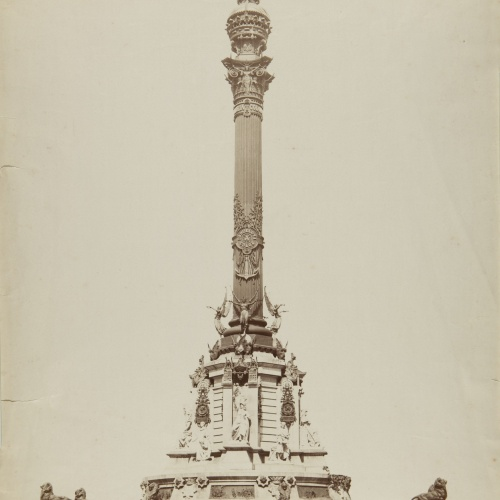 Antoni Esplugas Puig - Untitled [Monument to Columbus] - Circa 1890