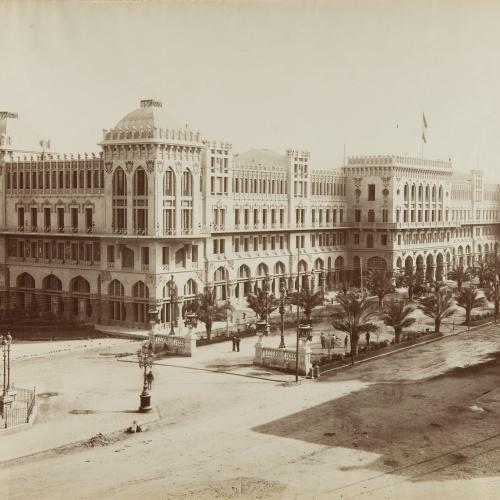 Antoni Esplugas Puig - Untitled [Gran Hotel Internacional] - Circa 1890