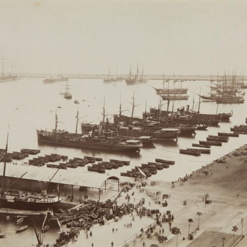 Antoni Esplugas Puig - [Port of Barcelona] - Circa 1890
