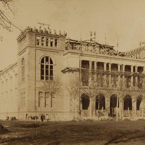 Pau Audouard - [Palau de Belles Arts of Barcelona] - Circa 1888