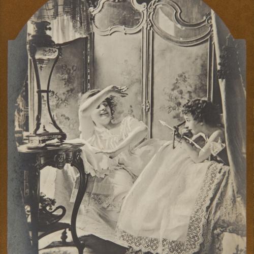 Pere Casas Abarca - Sueño de amor - Cap a 1900