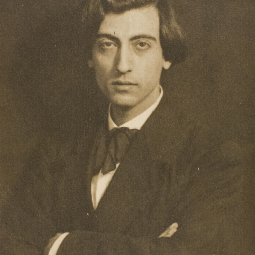 Rafael Areñas Tona - Retrato del pianista Juli Pons - Hacia 1920