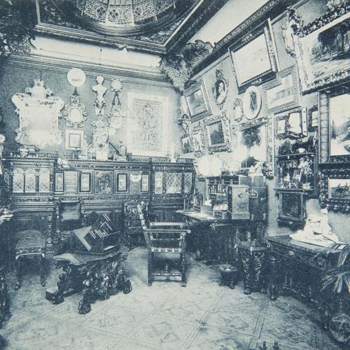 Napoleón. Establecimiento de daguerrotipo y fotografía. Barcelona - Estudi Fotogràfic Napoleón. Despatx del director - 1895