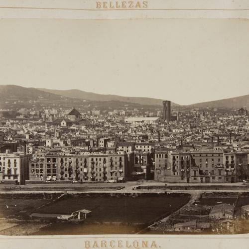 Joan Martí  - Vista de Barcelona - 1874