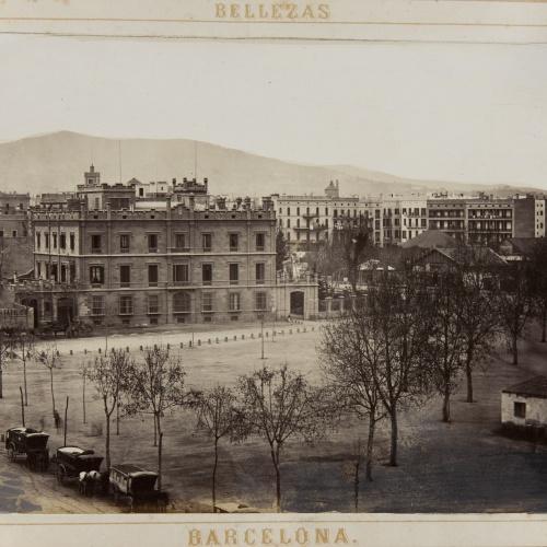 Joan Martí  - Plaza de Cataluña - 1874