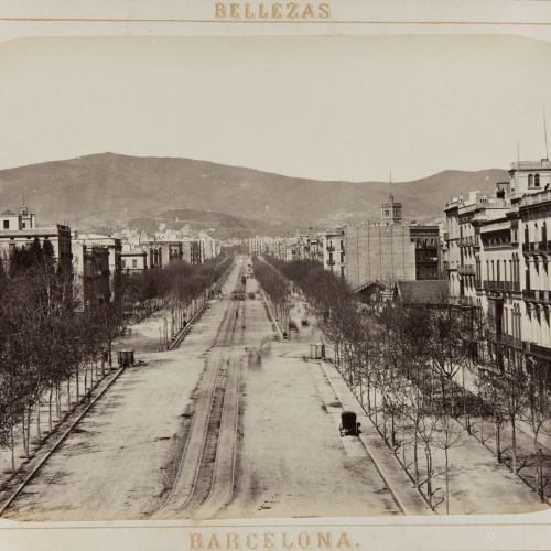 Joan Martí  - Paseo de Gracia - 1874