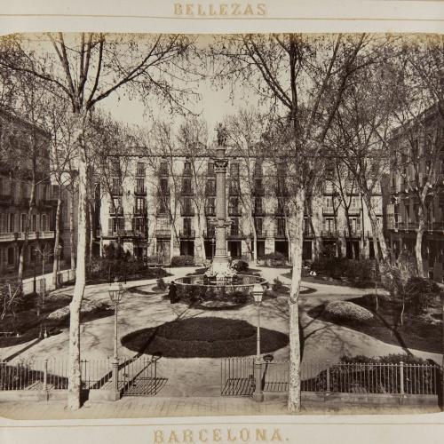 Joan Martí  - Plaza de Medinaceli - 1874