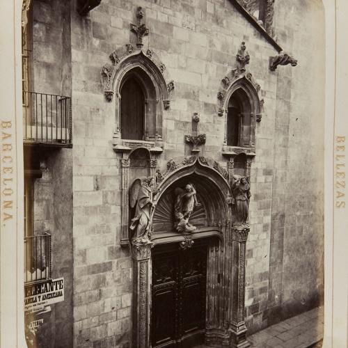 Joan Martí  - Fachada de San Miguel - 1874