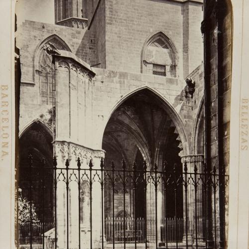 Joan Martí  - Claustros de la Catedral - 1874