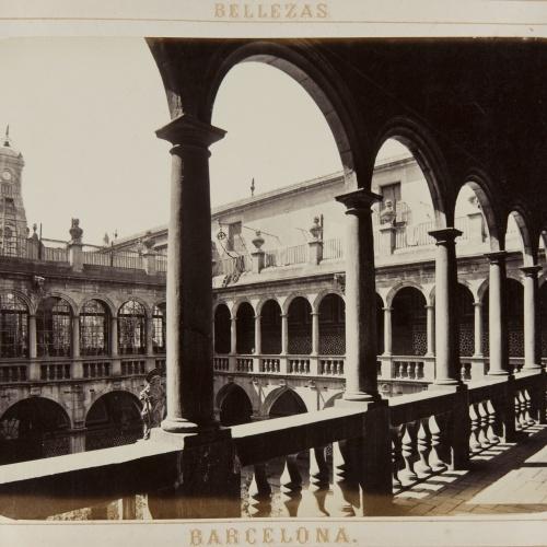 Joan Martí  - Patio de la Convalescencia - 1874