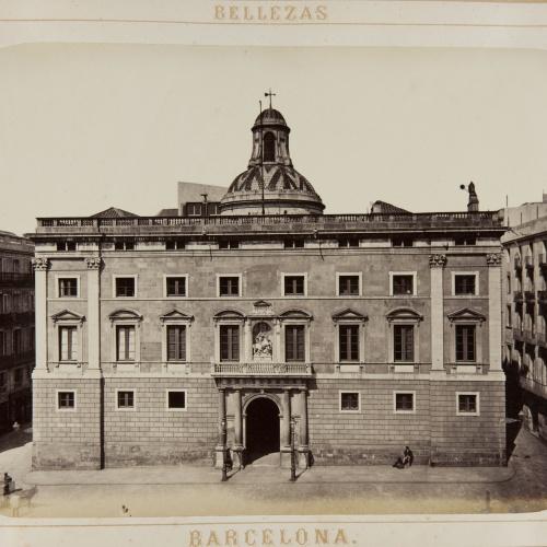 Joan Martí  - Diputacion (fachada) - 1874