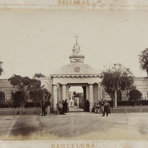 Joan Martí  - Cementerio (fachada) - 1874