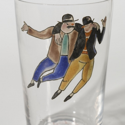 Xavier Nogués - Glass with two drunks - Between 1923-1928