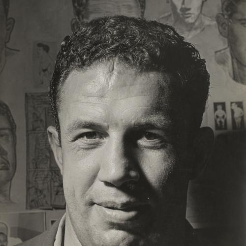 Oriol Maspons - Sense títol (José Tarrés, lluitador) - Cap a 1957
